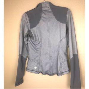LULULEMON | Grey Long Sleeve Jacket Thumb Holes